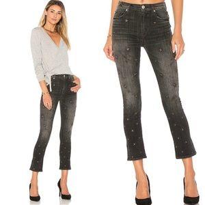 ✨EUC Hudson Harper High Rise Crop Capri Star Jeans